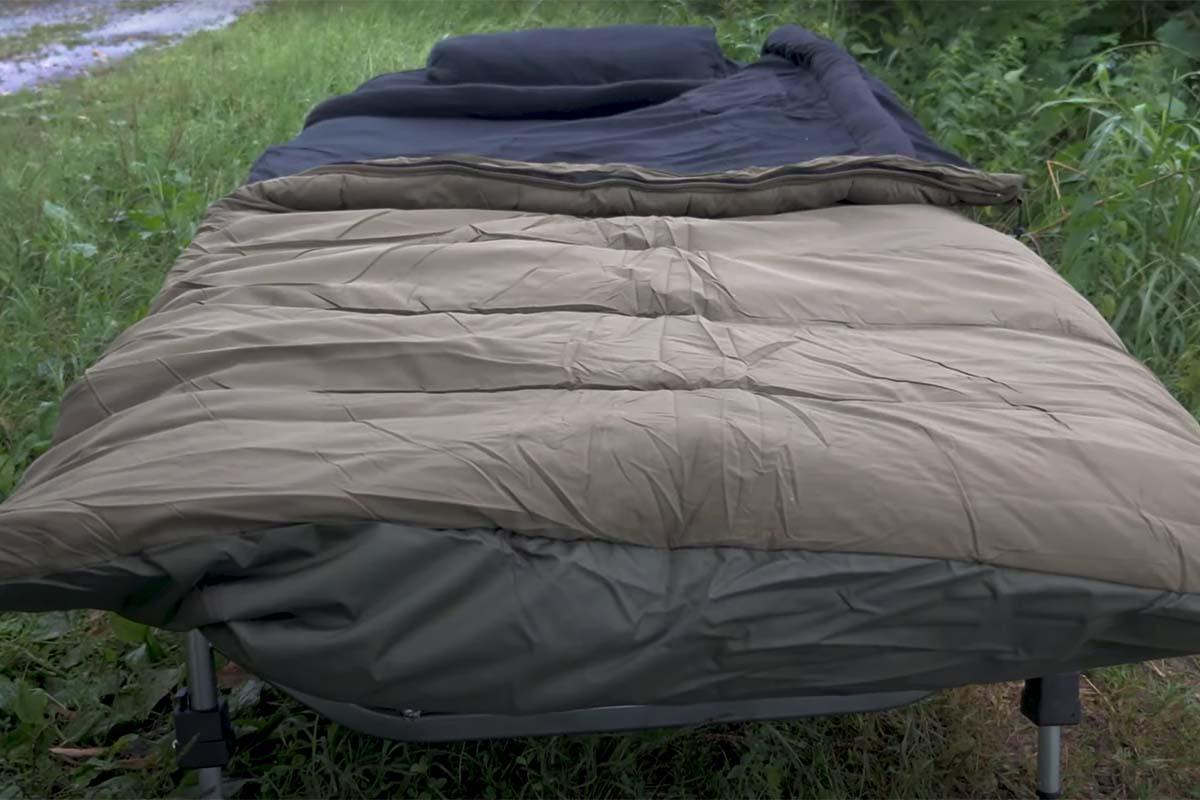twelvefeetmag carpline24 xtreme schlafsack 3 -  - Xtreme Schlafsack, Schlafsack Karpfenangeln, Schlafsack für alle Jahreszeiten, Carpline24