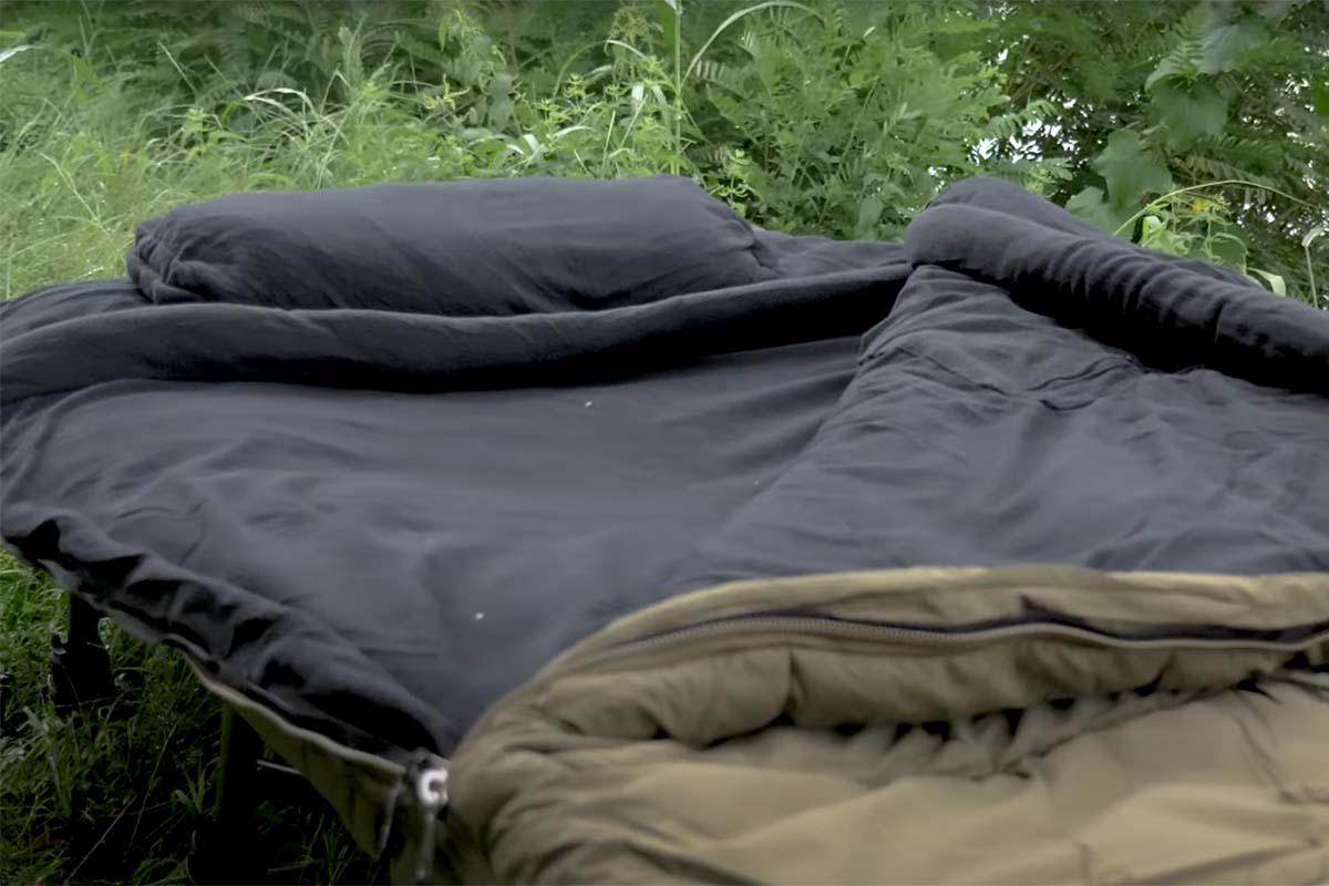 twelvefeetmag carpline24 xtreme schlafsack 4 -  - Xtreme Schlafsack, Schlafsack Karpfenangeln, Schlafsack für alle Jahreszeiten, Carpline24