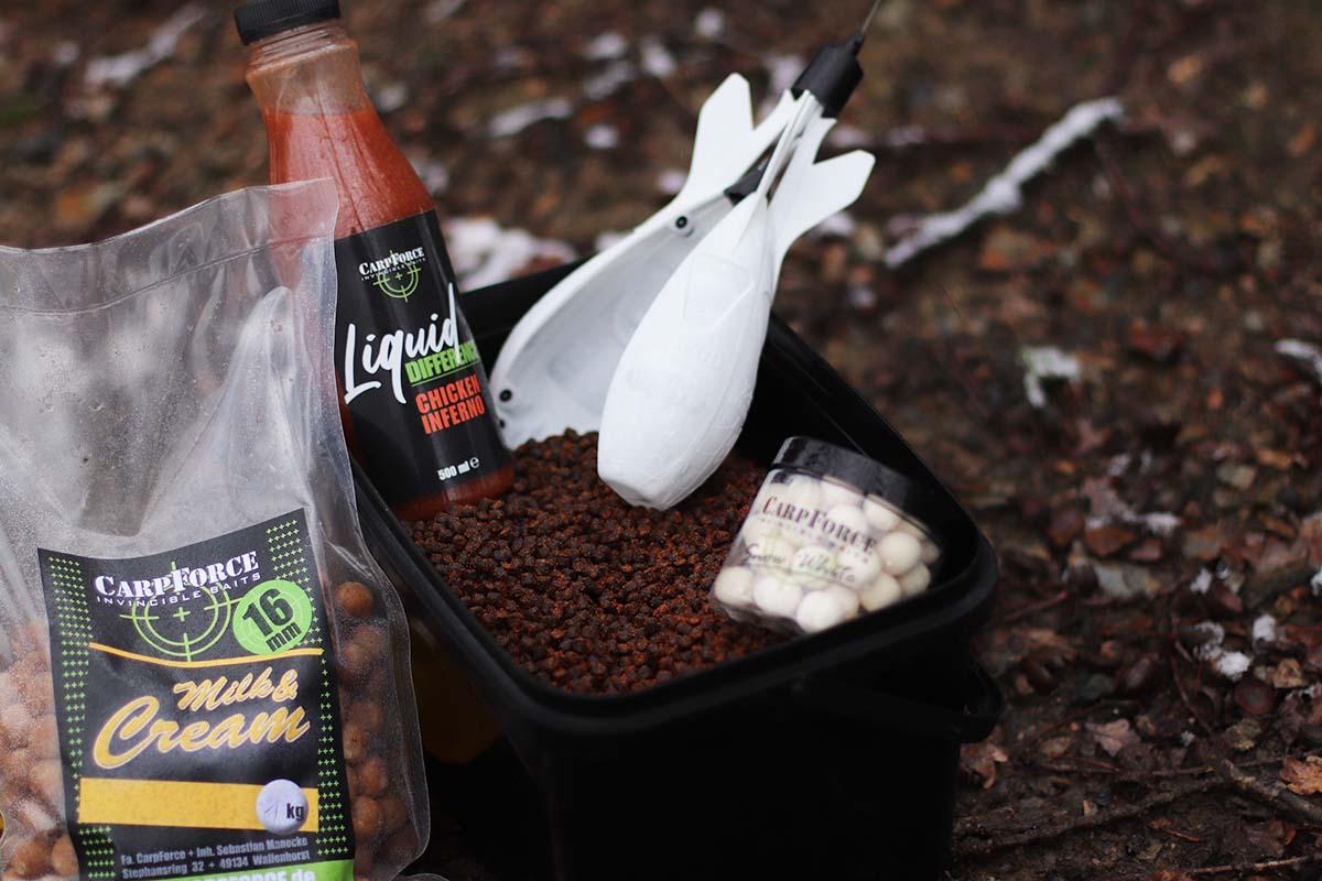 twelvefeetmag bait bag karpfenfutter sebastian manecke carpforce 2 -  - Karpfenfutter, Karpfenangeln mit Futter, Futter