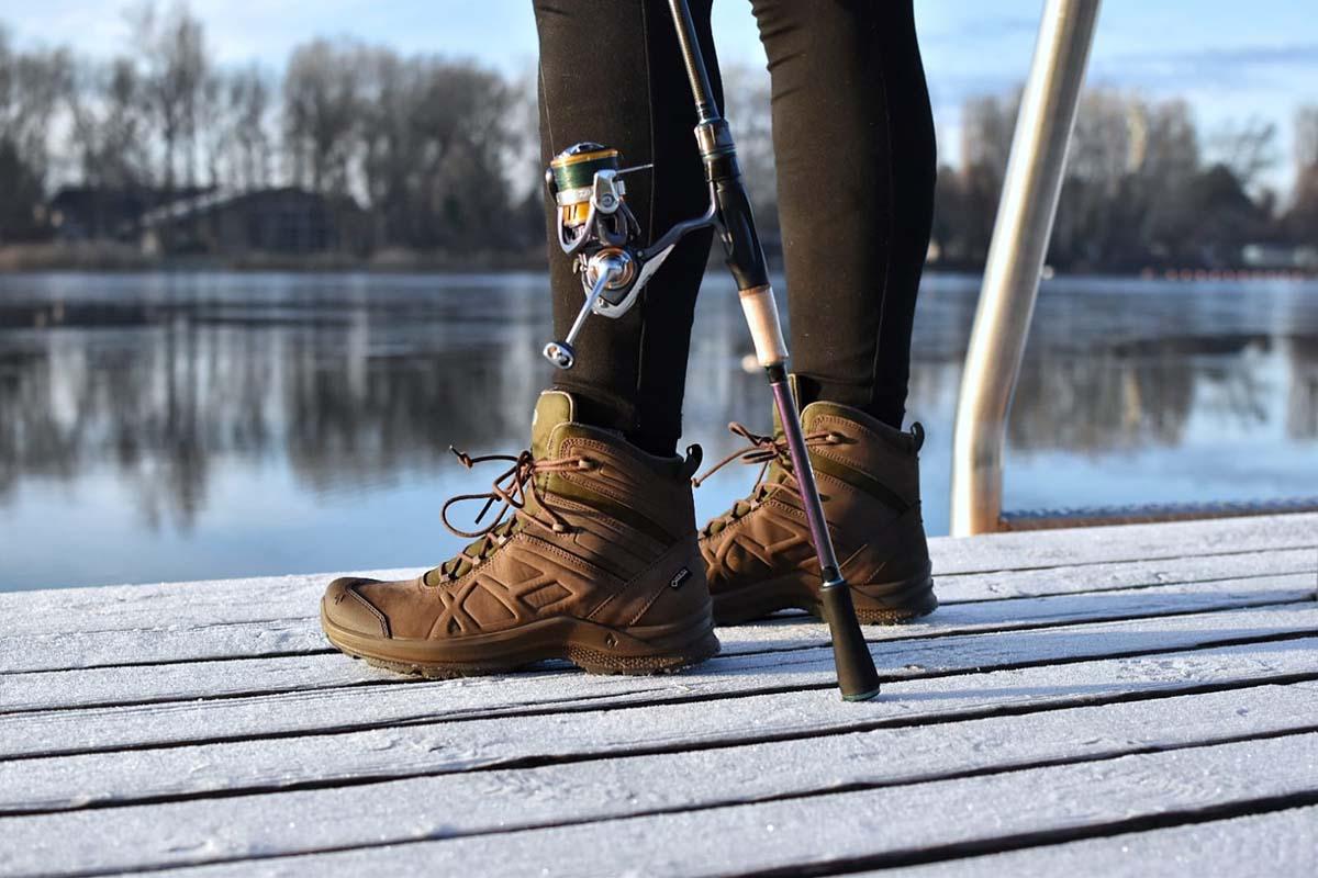 twelvefeetmag haix outdoorschuhe für karpfenangler 3 -  - Schuhe für Karpfenangler, Schuhe, Outdoorschuhe für Karpfenangler, Outdoorschuhe, Haix