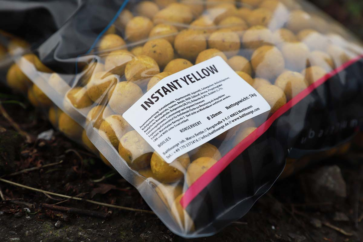 twelvefeetmag instant boilies baitlounge 6 -  - Instant Yellow, Instant White, Instant Boilies, Baitlounge
