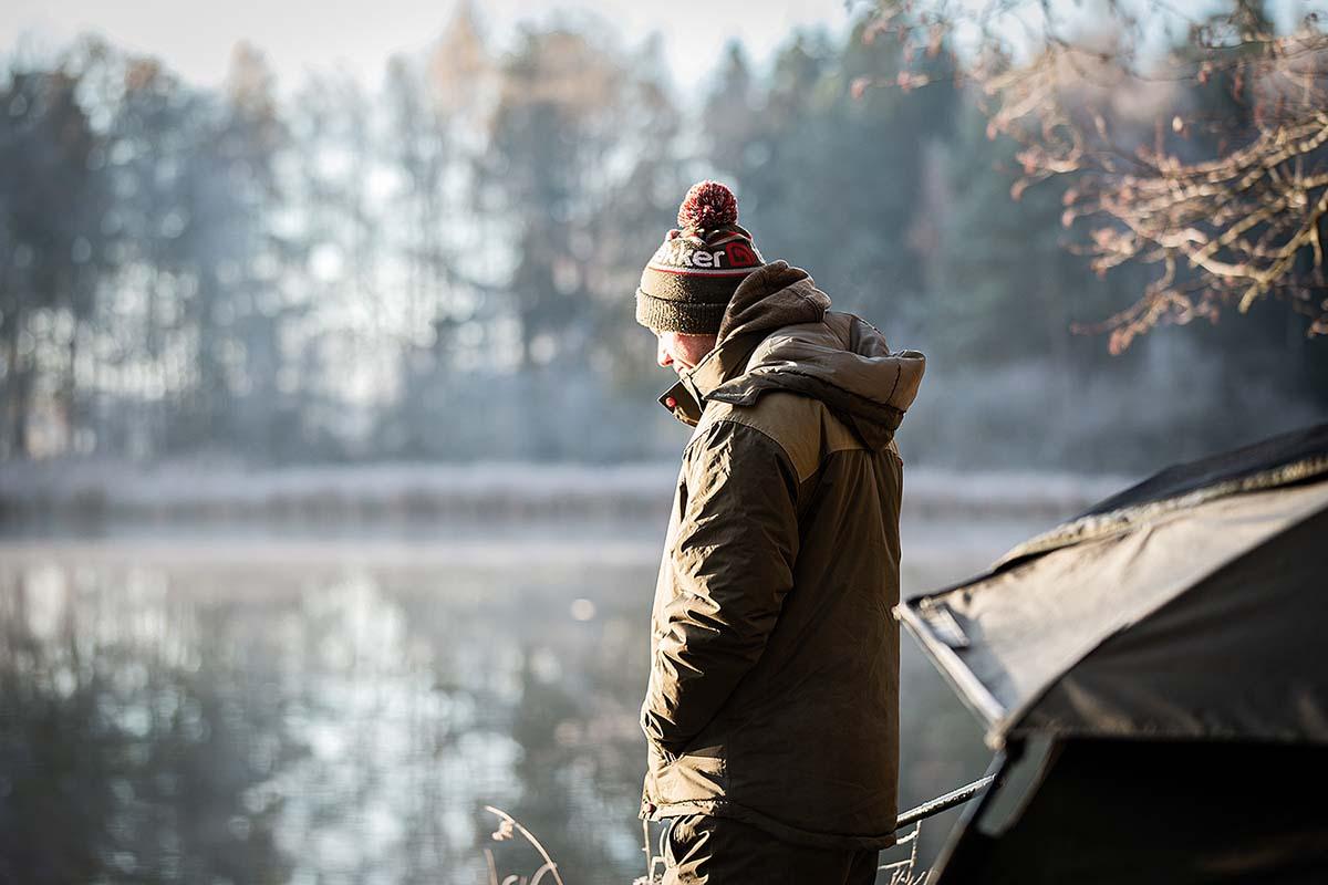twelvefeetmag karpfenangeln bei kälteeinbruch 2 -  - Trakker Products, trakker, KArpfenangeln im Winter, Karpfenangeln bei Kälteeinbruch, Christoph Mühl, Christian Wolf