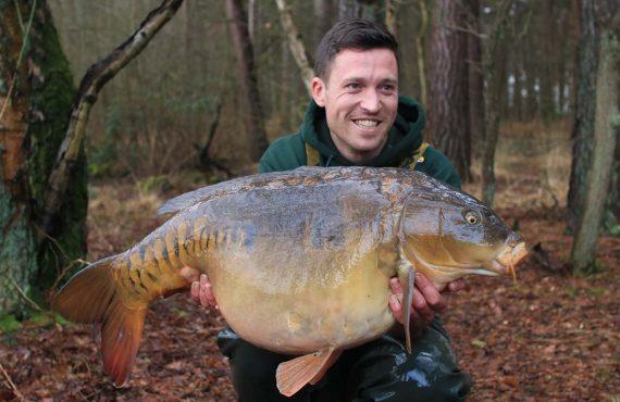 Dave Woods auf Zielfischjagd