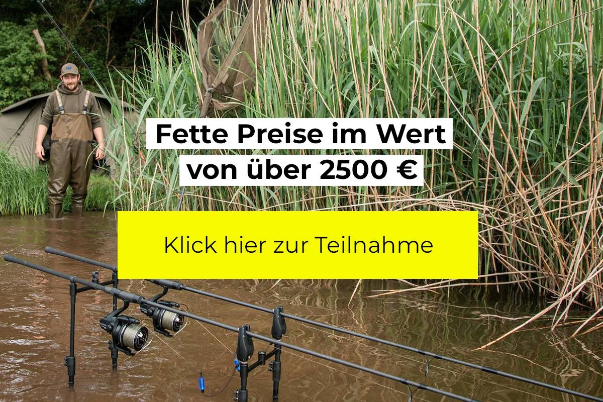 Banner Beitrag -  - Gewinnspiel für Karpfenangler, gewinnspiel, 12 ft. Mega Spring Competition