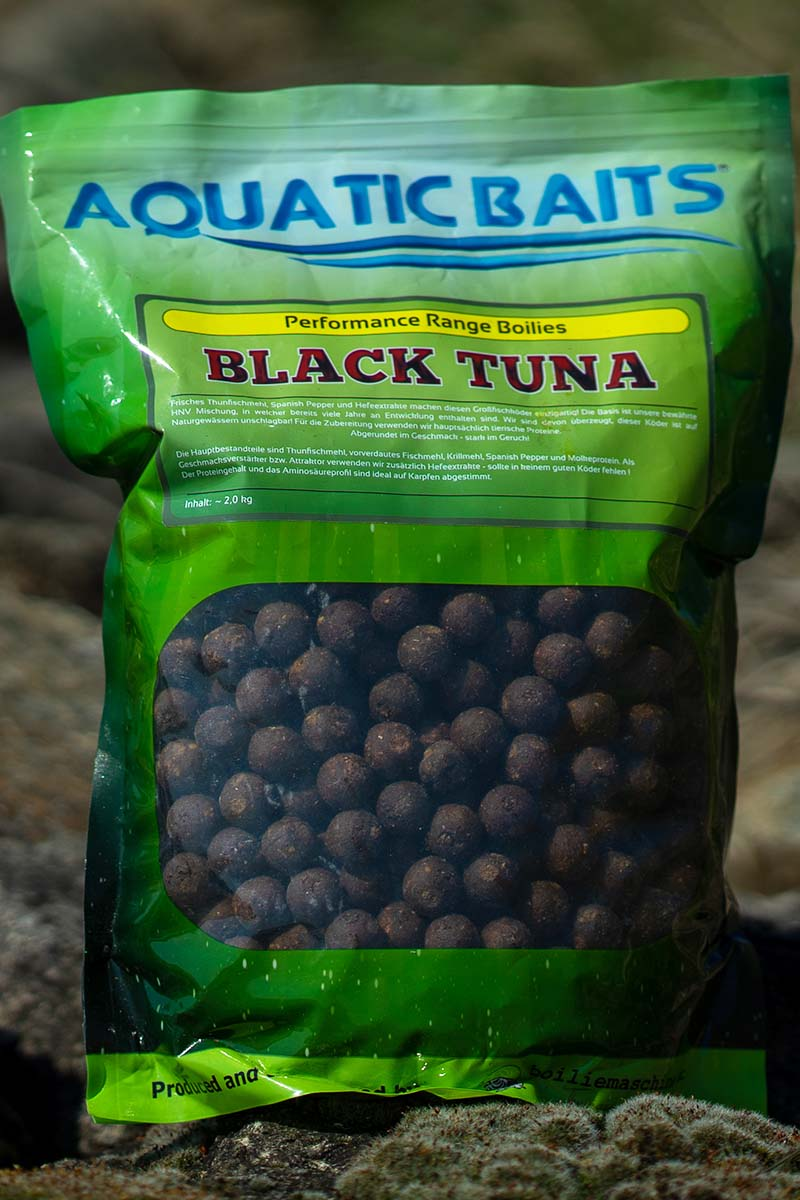 twelvefeetmag black tuna aquatic baits 1 -  - Black Tuna Boilie, Black Tuna, Aquatic Baits Black Tuna, Aquatic Baits
