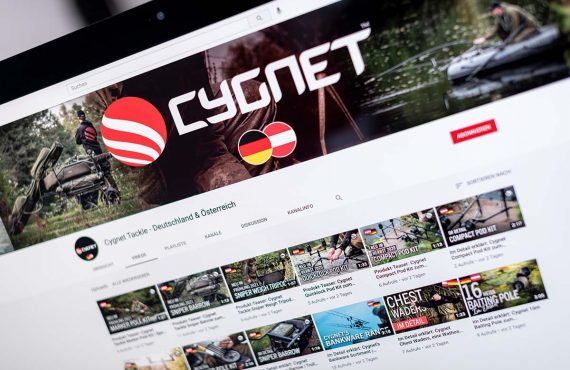 Cygnet Tackle: deutschsprachiger YouTube-Kanal online