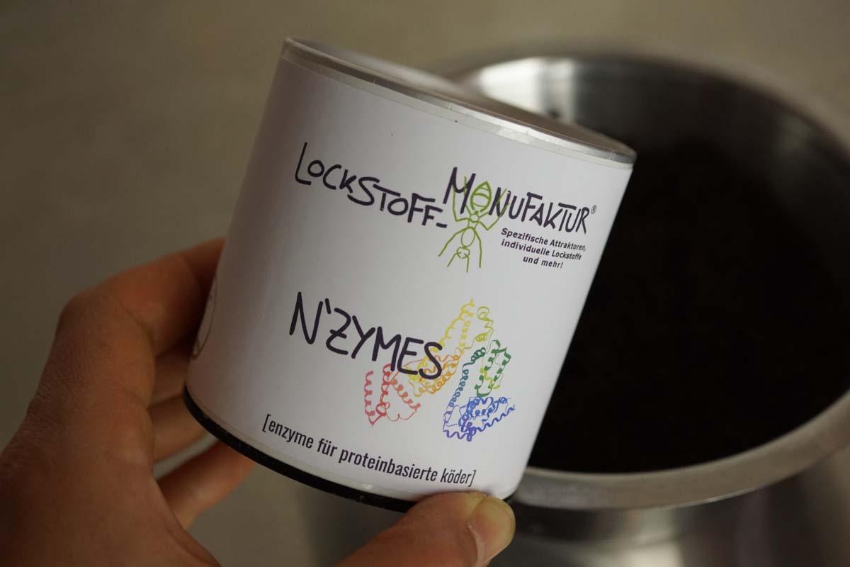 twelvefeetmag enyzme köderherstellung karpfenangeln 9 -  - Lockstoff Manufaktur, Enzyme Köderherstellung, Enzyme Köder, Enzyme