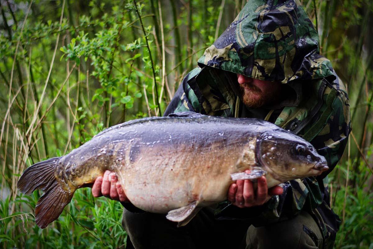 twelvefeetmag liam woolcott karpfenangeln in england 7 -  - Wolf International, Liam Woolcott, Karpfenangeln in England, Ausnahme-Fisch