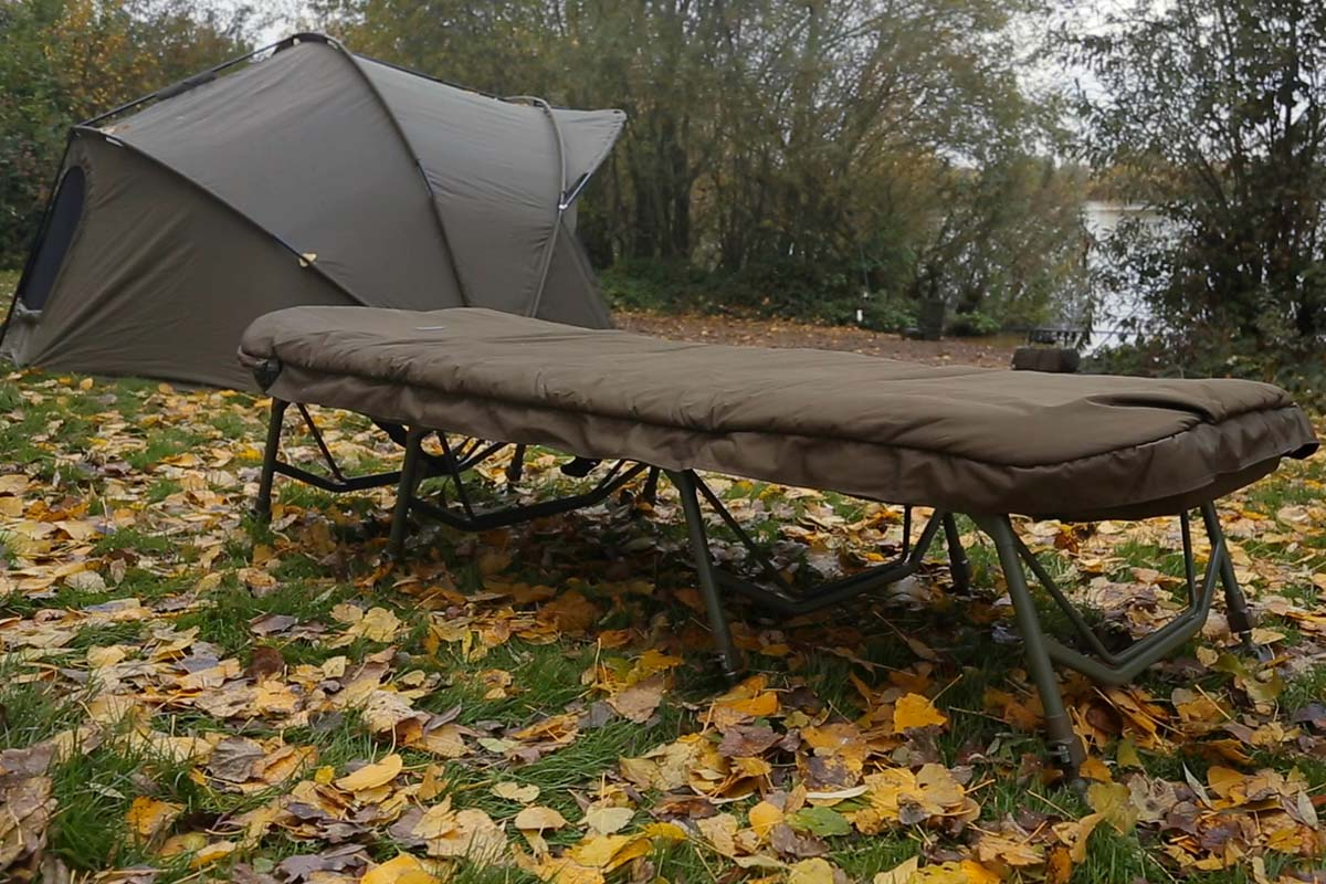 twelvefeetmag trakker rlx 8 leg bed 2 -  - Trakker RLX 8-Leg Bed System, Trakker RLX 8-Leg Bed, Trakker Products, trakker, Carpline24
