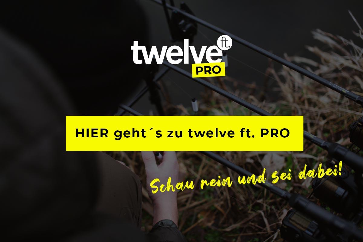twelvefeetmag twelveft CTA -  - Videoplattform für Karpfenangler, Videoplattform, twelve ft. PRO ist online, twelve ft. PRO