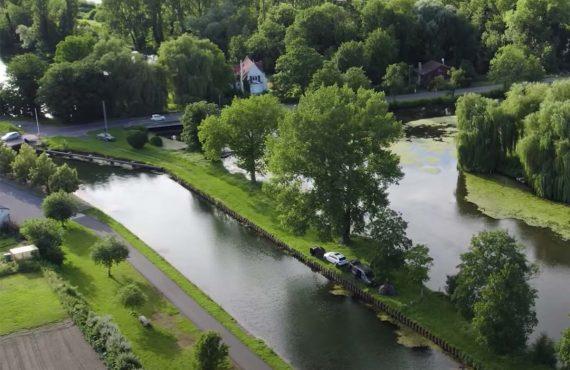 Kanalangeln in Frankreich – neues Video online