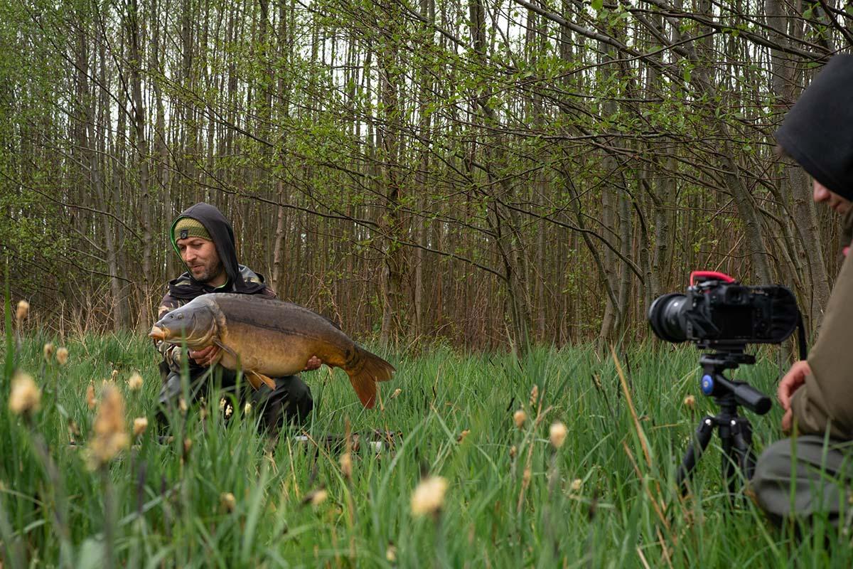 twelvefeetmag karpfenangeln mecklenburg marcel protz 2 -  - Natursee, Mecklenburg, Marcel Protz, Karpfenangeln Mecklenburg