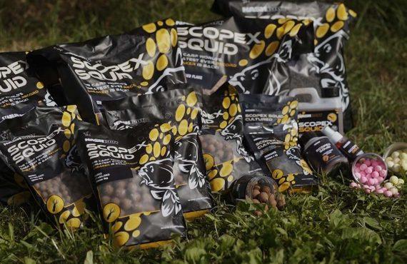 Scopex Squid Range: Gewinne jetzt mehr als 25 Kilo Futter